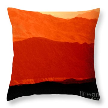 October Hills Throw Pillow