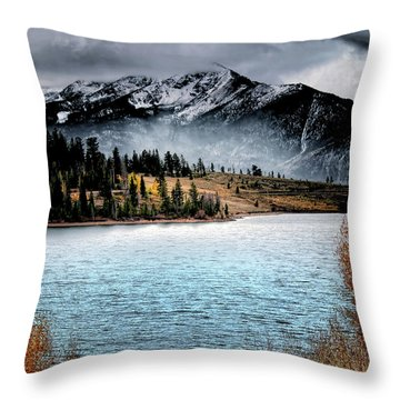 October Morning Throw Pillow