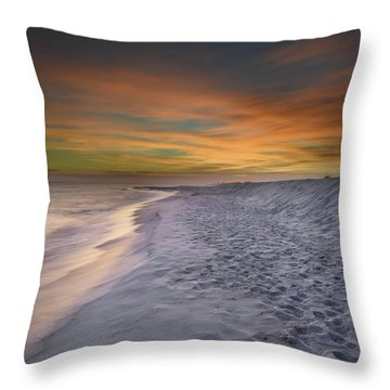 Throw Pillow featuring the photograph October Night by Renee Hardison