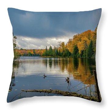 October Storm Throw Pillow