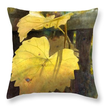 October Sunday Throw Pillow