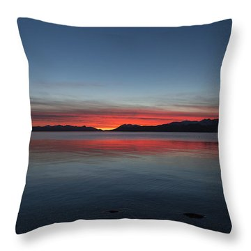 October Sunset II Throw Pillow