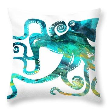 Aquatic Throw Pillows
