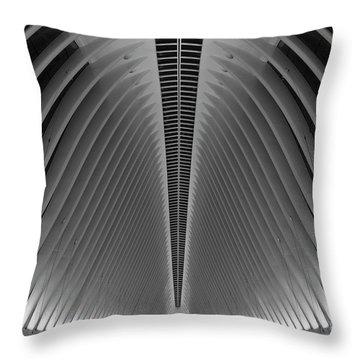 Oculus World Trade Center  Throw Pillow
