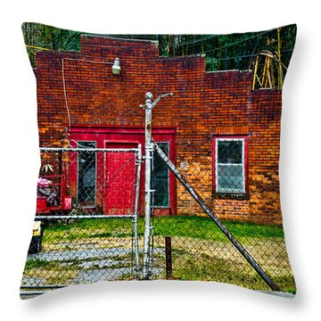 Odd Little Place Throw Pillow by Christopher Holmes