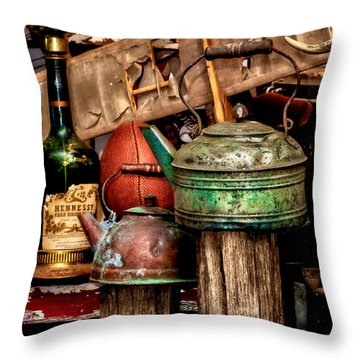Odds And Ends Throw Pillow