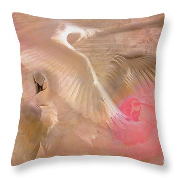 Ode To A Swan 2015 Throw Pillow