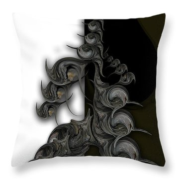 Ode To Aesthetic Dimensionality Throw Pillow