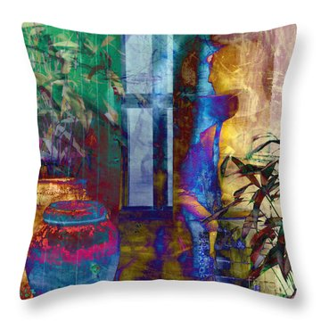 Ode On Another Urn Throw Pillow