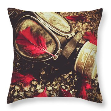 Ode To The Fallen Throw Pillow