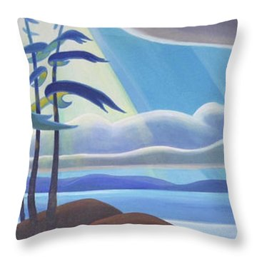 Ode To The North II Throw Pillow