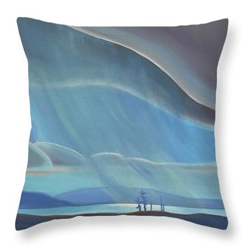 Ode To The North II - Rh Panel Throw Pillow