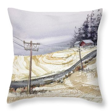Odell Road Throw Pillow