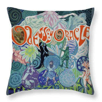 Odessey And Oracle - Album Cover Artwork Throw Pillow