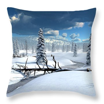 Of Blankets And Sheets Throw Pillow