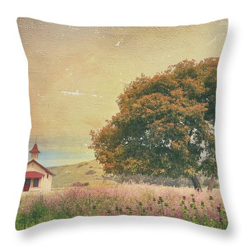 Of Days Gone By Throw Pillow by Laurie Search