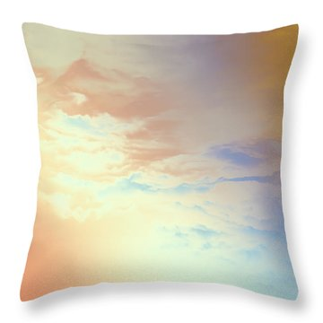 Of Heaven Throw Pillow