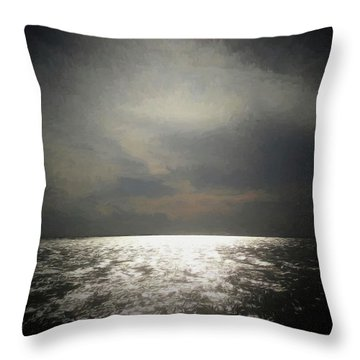 Of Places Far Away Throw Pillow by Ernie Echols