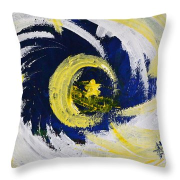 Of Stars And Moons Throw Pillow