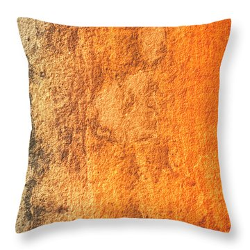 Throw Pillow featuring the photograph Of Sunsets And Stone 2 by Christi Kraft