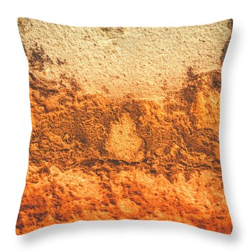 Throw Pillow featuring the photograph Of Sunsets And Stone 3 by Christi Kraft