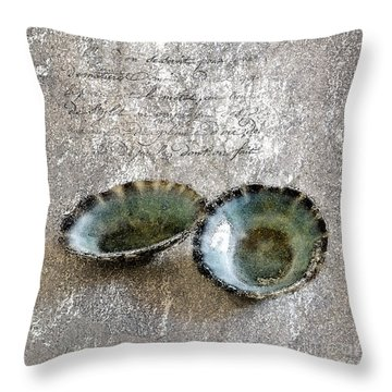 Of The Sea 2 Throw Pillow by Betty LaRue