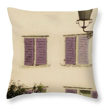 Throw Pillow featuring the photograph Of Times Past  by Connie Handscomb