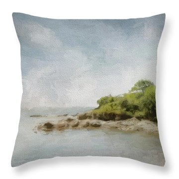 Off Little Diamond Throw Pillow
