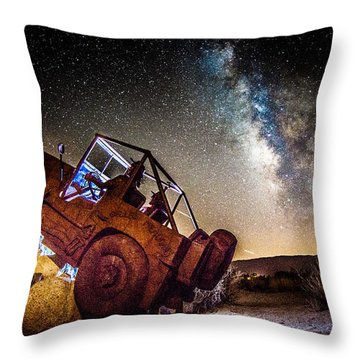 Off-road At Borrego Springs Throw Pillow