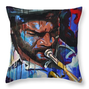 Off The Cuff Throw Pillow by Julia Pappas