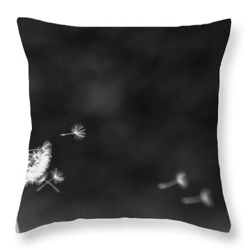 Off To Pastures New Throw Pillow