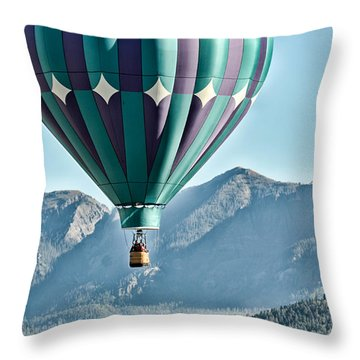 Throw Pillow featuring the photograph Off To See The Wizard... by Kevin Munro