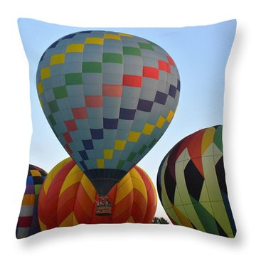 Off We Go Throw Pillow