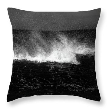 Offshore Throw Pillow by Dave Bowman
