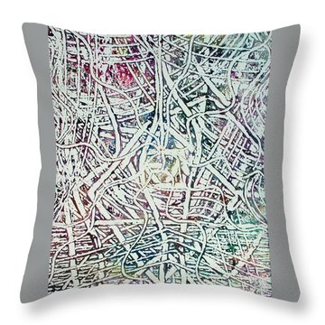 24-offspring While I Was On The Path To Perfection 24 Throw Pillow