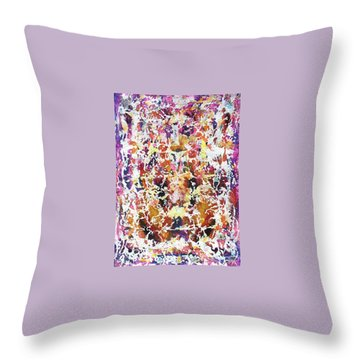 6-offspring While I Was On The Path To Perfection 6 Throw Pillow