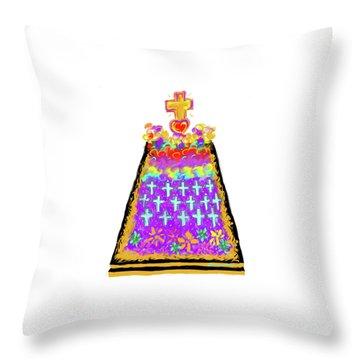 Ofrenda De Muertos Throw Pillow