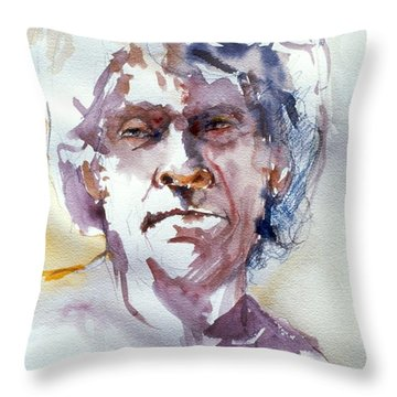 Ogden Head Study 1 Throw Pillow