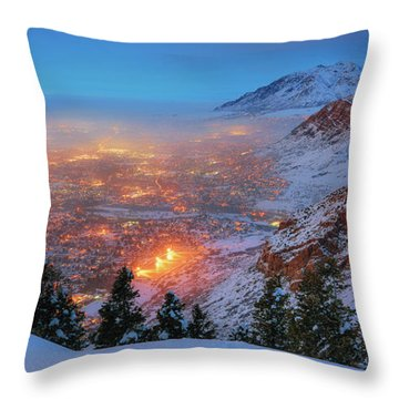 Ogden Twilight Throw Pillow