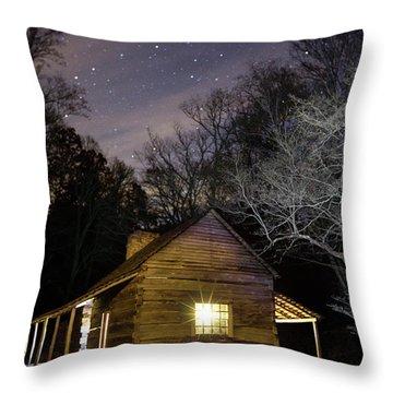 Ogle Cabin Throw Pillow
