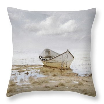 Ogunquit Sky Throw Pillow