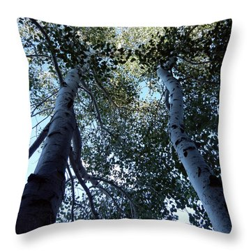 Oh Aspen Throw Pillow