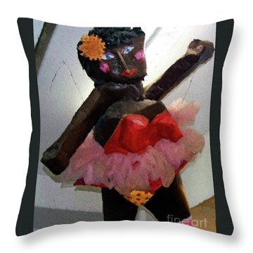 Oh Baby Throw Pillow by Debbi Granruth