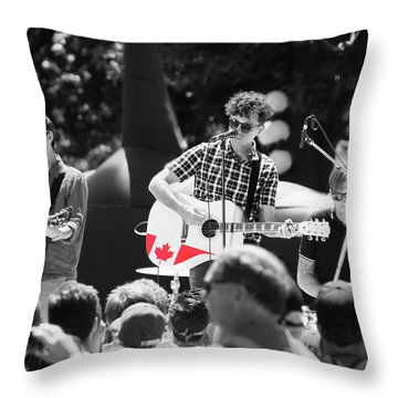 Throw Pillow featuring the photograph Oh Canada, Eh? by Rasma Bertz