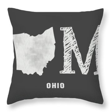 Oh Home Throw Pillow