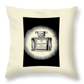 Throw Pillow featuring the digital art Oh Joy by ReInVintaged