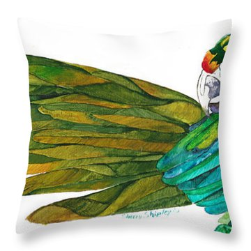 Oh Mya Throw Pillow