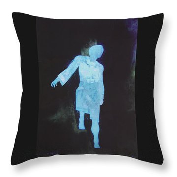 Oh That I Were An Angel  Throw Pillow