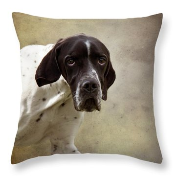 Oh The Eyes Throw Pillow