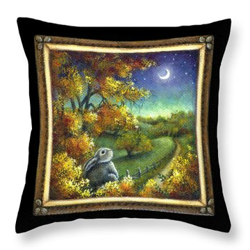 Oh The Possibilities Throw Pillow by Retta Stephenson